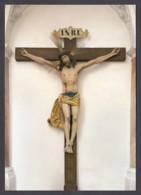 """Germany - Zwiefalten (BW) / Münster - Klosterkirche """"Unserer Lieben Frau"""" - Spätgotisches Kruzifix In Der Vorhalle (2) - Iglesias Y Catedrales"""