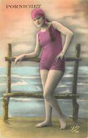 PORNICHET Les BAINS-baigneuse Année 1930 - Pornichet