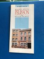 Plaquette Publicitaire Pour Le Grand Hôtel Pelisson A Nontron - Advertising