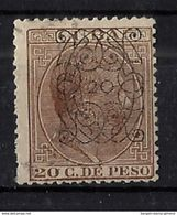 CUBA 82 En Usado. Cat.85 € - Cuba (1874-1898)