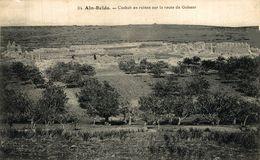 Aïn Beïda, Casbah En Ruines Sur La Route De Guisser.  Argelia // Algérie - Algeria