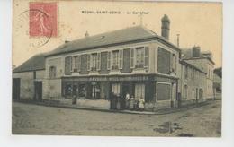 LE MESNIL SAINT DENIS - Le Carrefour (HOTEL DES CHASSEURS ) - Le Mesnil Saint Denis