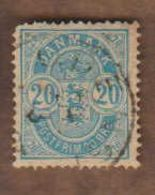 DANEMARK  (Y&T) 1882/95 -.n°37   **      20* Obli - Usati