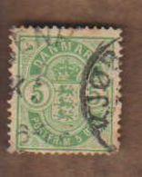 DANEMARK  (Y&T) 1882/95 -.n°35   **      5* Obli - Usati