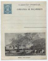 COMPANHIA DE MOCAMBIQUE - MOZAMBIQUE / BEIRA CLUB DO SPORT CARTE LETTRE ILLUSTREE (ref 7252) - Mozambique