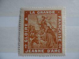 Gloire à La Grande Jeanne D'arc - Commemorative Labels