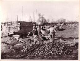 PUY DE DÔME , CHÂTEL GUYON ?? - CHANTIER , CHANTIERS DE JEUNESSE 1940-1944 - ENSEMBLE DE 7 PHOTOS - Guerre, Militaire