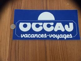 Grand AUTOCOLLANT, Sticker «OCCAJ - Vacances Voyages » - Stickers