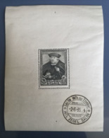 BLOC N°3 - 1935 - SALON INTERNATIONAL DU TIMBRE - SITEB - Blokken 1924-1960