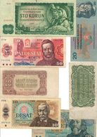 Czechoslovakia Lot 7 Banknotes - Checoslovaquia