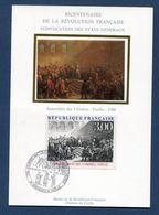 France - Carte Maximum - Bicentenaire De La Révolution Française - 1988 - Maximum Cards