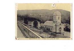 Cpa - 01 - BELLEYDOUX - L'Eglise Et La Montée Des écoles - - Autres Communes