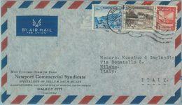 86183 - PAKISTAN - POSTAL HISTORY -  Airmail  COVER To ITALY  1950's - Pakistan