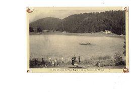 Cpa - 01 - Un Joli Coin Du Haut-Bugey - Le Lac Genin - Animation - Autres Communes