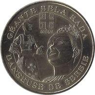 2008 MDP181 - ORCHIES - Géante Bel Rada (danseuse De Serbie) / MONNAIE DE PARIS - Monnaie De Paris