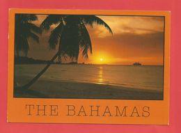 """C.P.M. ( NASSAU  ) """" BAHAMAS """"  Joli Coucher De Soleil The Bahamas   2phot. - Postcards"""