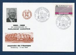France - Carte Maximum - Europa - 1988 - Maximumkarten