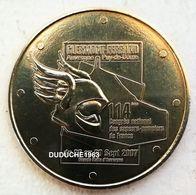 Monnaie De Paris 63.Clermont Ferrand - 114 Congrès Pompiers 2007 - Monnaie De Paris