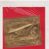 TIMBRES EN OR ET ARGENT(GOLD And SILVER ) POSTE AERIENNE N° 156 Et 157, 500 Fr Et 1500 Fr CONCORDE, Neuf **(MNH). TB. - Senegal (1960-...)