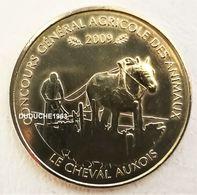 Monnaie De Paris 75.Paris - Concours Agricole Cheval Auxois 2009 - Monnaie De Paris