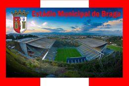 CP.STADE DE FOOTBALL. BRAGA   PORTUGAL  ESTADIO DE BRAGA    # CS. 583 - Football