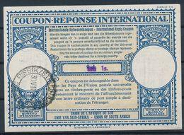 AFRIQUD Du SUD / Südafrika  -  1960  ,  Lo16  ,  1 S.  On 9 D.   -   Reply Coupon Réponse , Antwortschein , IAS - Afrique Du Sud (1961-...)