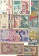 Romania Lot 7 Banknotes - Rumänien