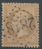 Lot N°56844    N°21, Oblit GC 2818 Perpignan, Pyrénées-Orientales (65) - 1862 Napoleon III