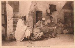 Tetuan (Tétouan - Maroc) - Babucheros Remendones (Cordonniers De Babouches) - Carte Rare - TBE - 2 Scans - Artisanat