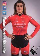 Cyclisme, Marion Norbert Riberolle, Signé - Cyclisme
