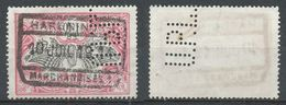 BELGIQUE - 1914/06/10 - Chemins De Fer - Oblitere - 1895-1913