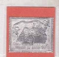 HAUTE-VOLTA - 1970 - NOEL - POSTE AERIENNE N° 88 - 300FR ARGENT - XX - TTB - - Obervolta (1958-1984)