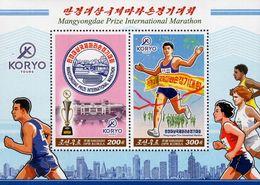 North Korea - 2020 - Mangyongdae Prize International Marathon - Mint Souvenir Sheet - Corea Del Nord