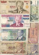 Turkey Lot 7 Banknotes - Turchia