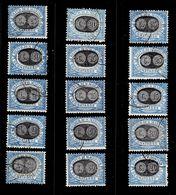 Saint-Marin Timbres Taxe YT N° 32/46 Oblitérés. B/TB. A Saisir! - Portomarken