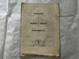 SPARTITO MUSICALE HENRY ROSELLEN DIABLE A QUATRE. - Partitions Musicales Anciennes