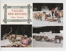 Prémanon : La Vallée Des Rennes, Départ Pour La Promenade En Traineeaux à Rennes (cp Vierge) - Autres Communes