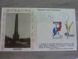 NANTES PREMIER JOUR D'EMISSION - Obj. 'Souvenir De'