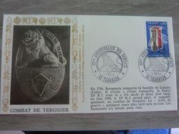 COMBAT DE TERGNIER AISNE - Obj. 'Souvenir De'