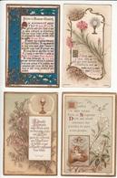 LOT De 4 IMAGES RELIGIEUSES - Blanchard - Andachtsbilder