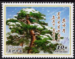 North Korea - 2020 - Pine Tree - Mint Stamp - Corea Del Nord