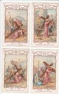 LOT De 8 IMAGES RELIGIEUSES - JESUS - Série Incomplète - Edition CHOCOLATERIE D'AIGUEBELLE - Andachtsbilder