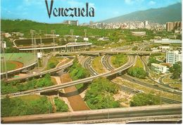 POSTAL    CARACAS  -VENEZUELA  -VISTA PANORÁMICA - Venezuela