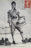 Carte Postale De Châtelaillon, Femme Type De Pecheuse, Cachet De La Poste De Fouras , 11 Septembre 1911, « 78 De » - Châtelaillon-Plage