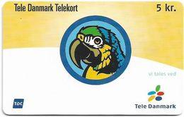 Denmark - Tele Danmark (chip) - Parrot - TDP358 - 01.2002, 3.500ex, 5kr, Used - Danemark