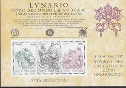 VATIKAN  Block 4, Postfrisch **, 400 Jahre Gregorianischer Kalender 1982 - Blocks & Sheetlets & Panes
