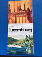Grand Duché De Luxembourg - Dépliants Touristiques