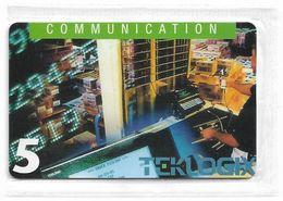 Denmark - Tele Danmark (chip) - Teklogix - TDP189 - 12.1997, 2.300ex, 5kr, NSB - Danemark