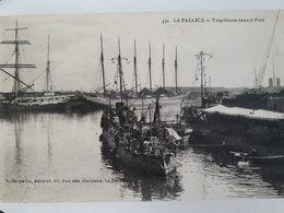 Carte Postale De Lapalisse, Torpilleur Dans Le Port, Bateau Militaire, Cachet De La Poste Du 27 Septembre 1918, « 78 » - Andere Gemeenten