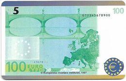 Denmark - Tele Danmark (chip) - 100 Euro Banknote - TDP218 - 12.1999, 1.300ex, 5kr, Used - Danemark